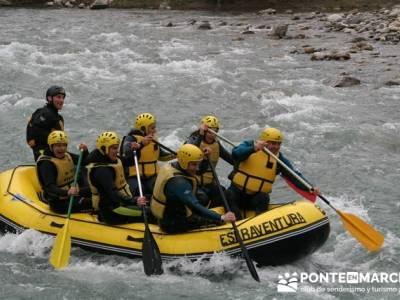 Rafting río Ara; tiendas de alpinismo en madrid; tienda senderismo madrid